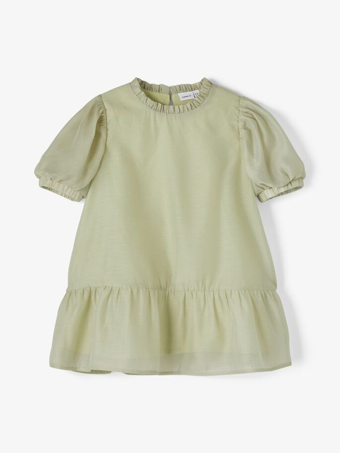 Name It grønn kjole Fina