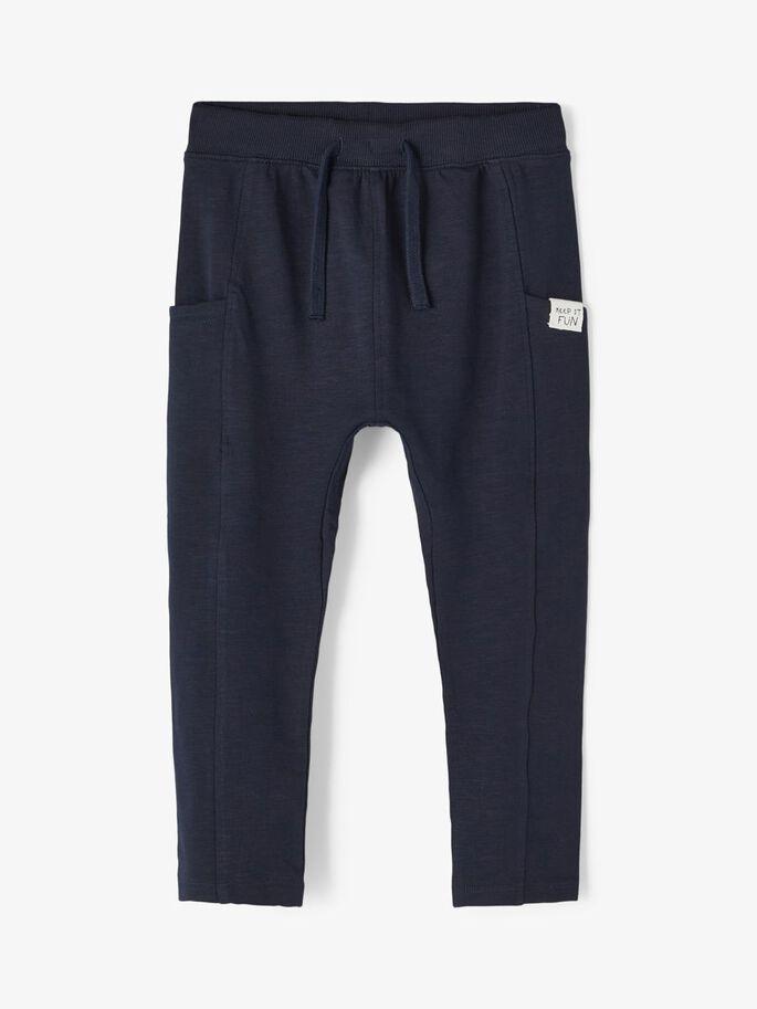 Blå bukse Fajan