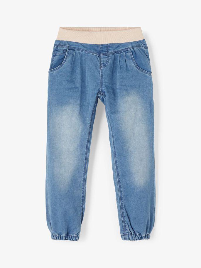 Baggy jeans jente