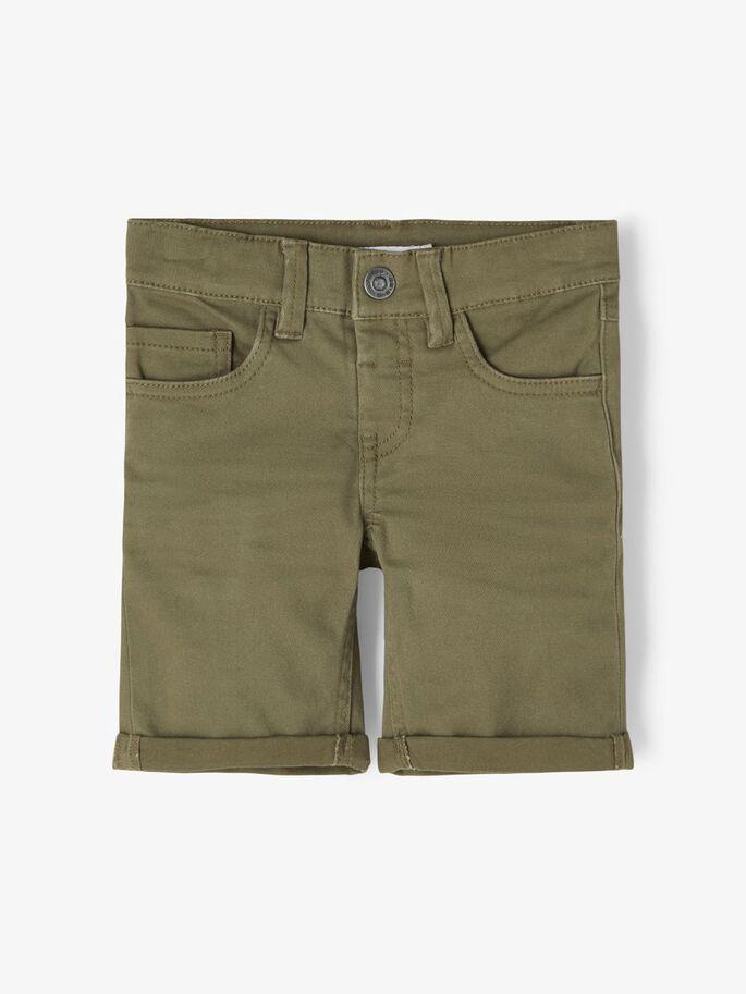 Grønn shorts Sofus