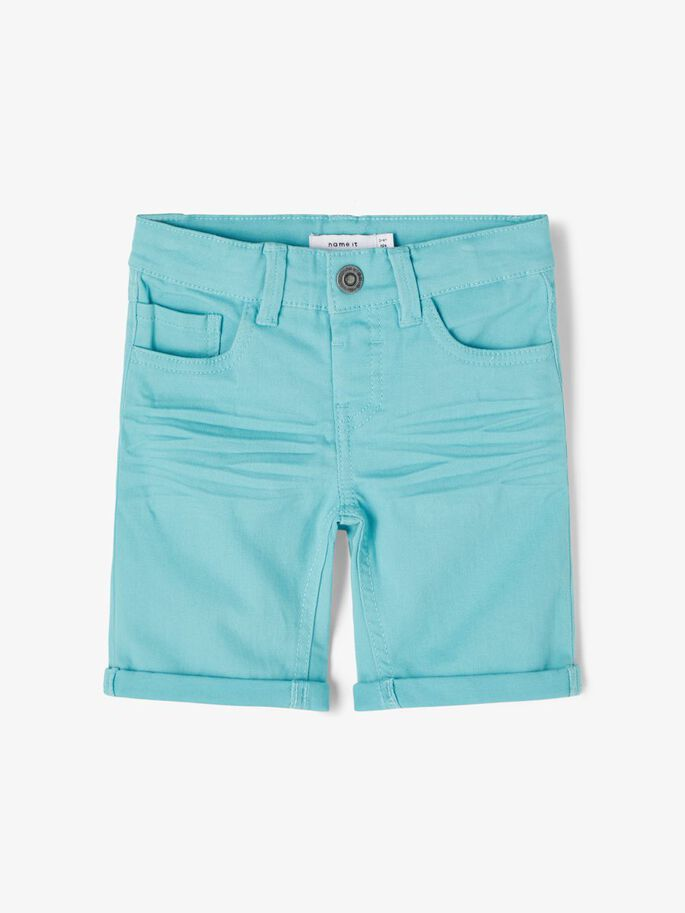 Turkis shorts til barn
