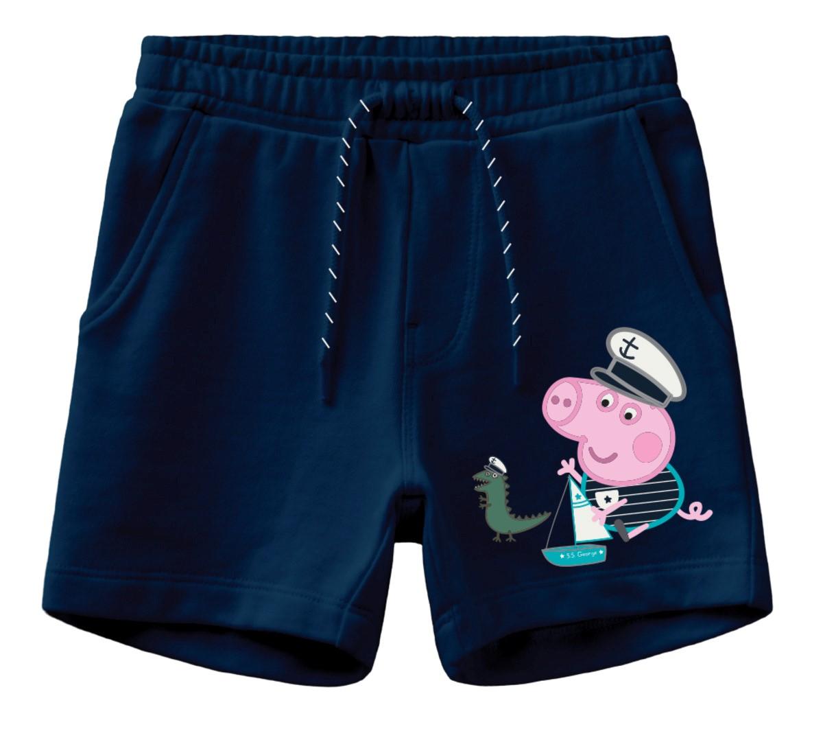 Peppa Gris blå shorts