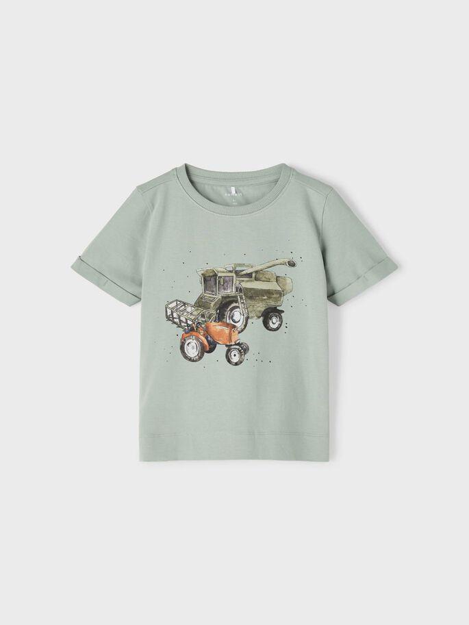 Grønn t-skjorte traktor