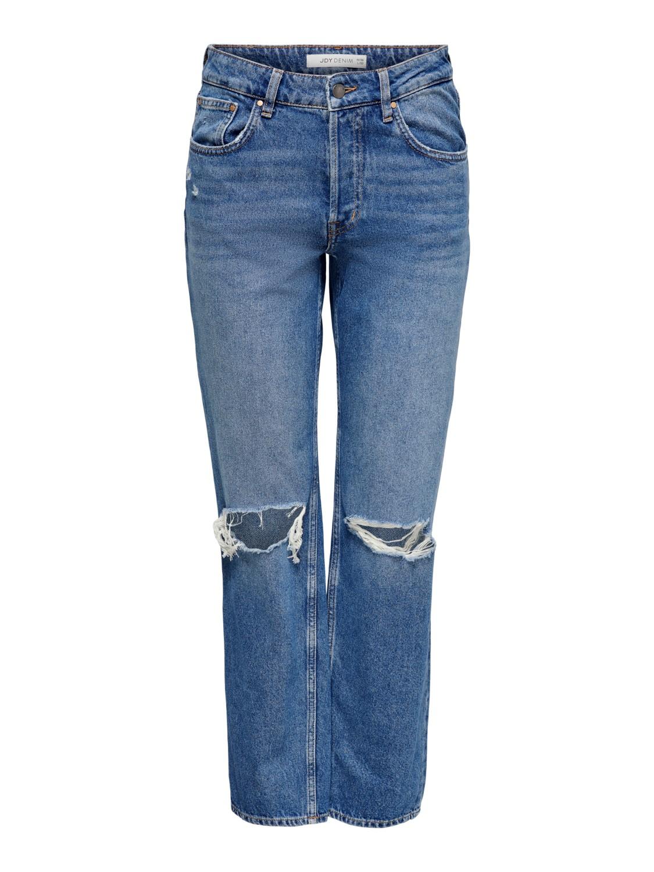Jeans med hull på knærne