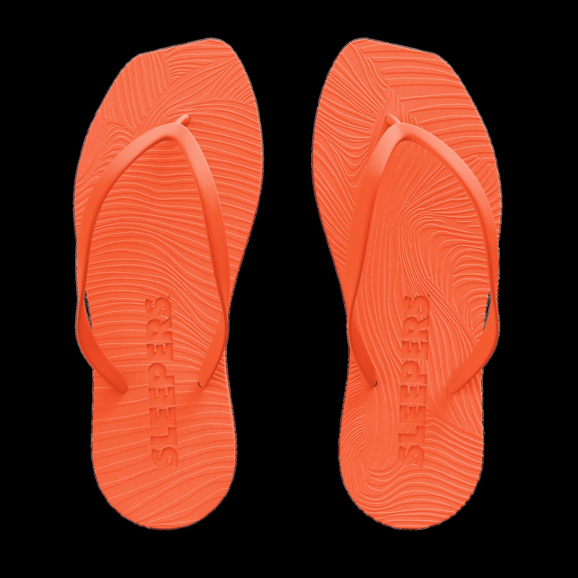 Sleepers sandaler oranjse