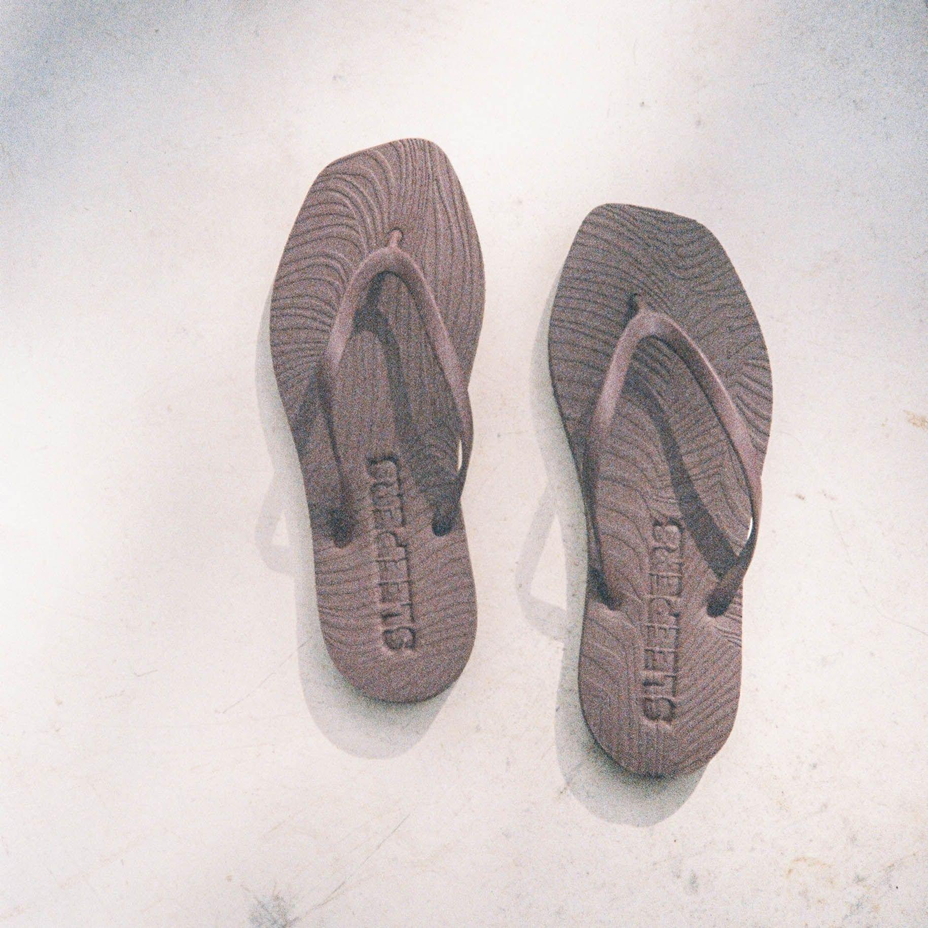 Brune Sleepers sandaler