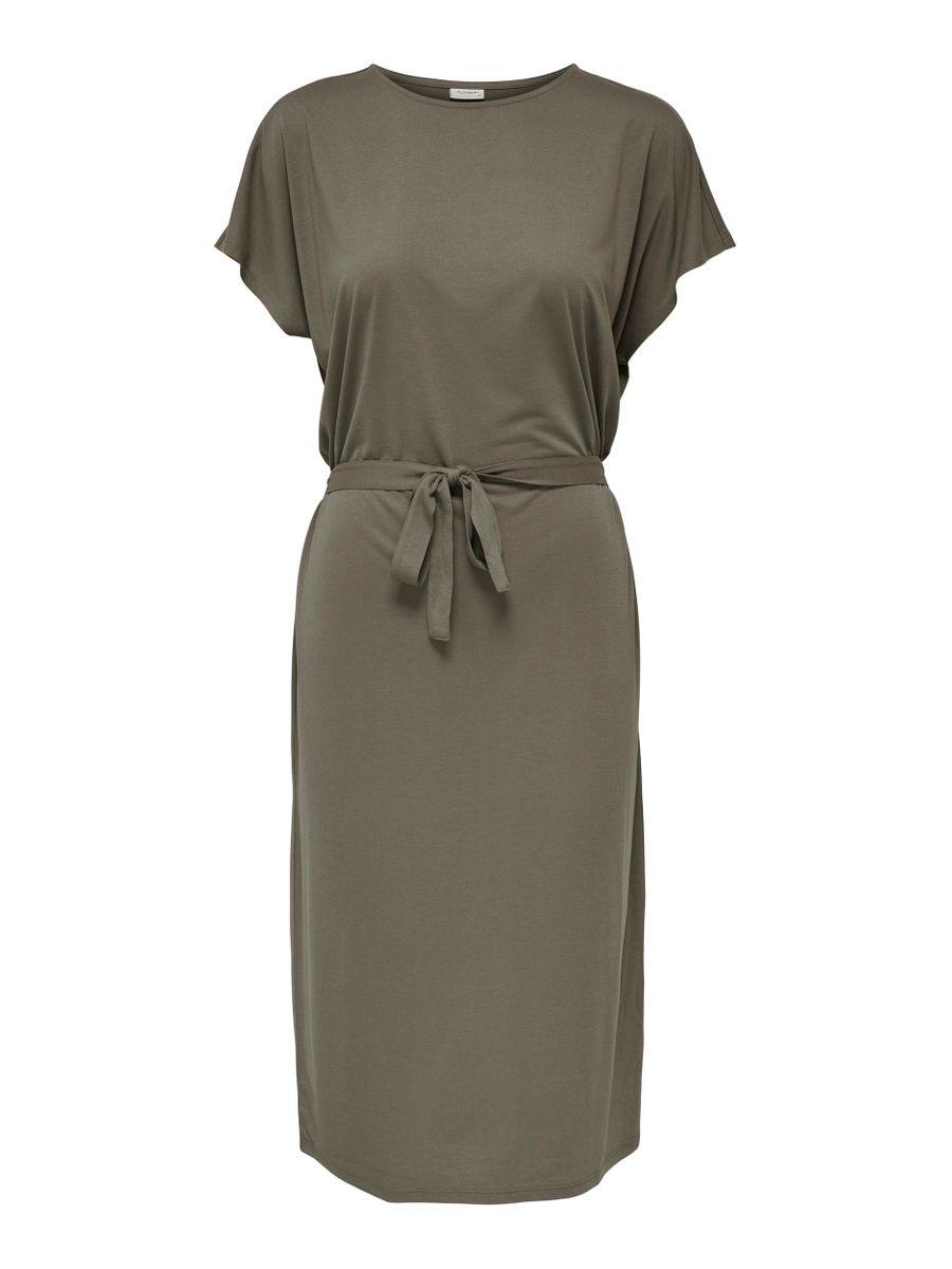 Brun kjole Jdy