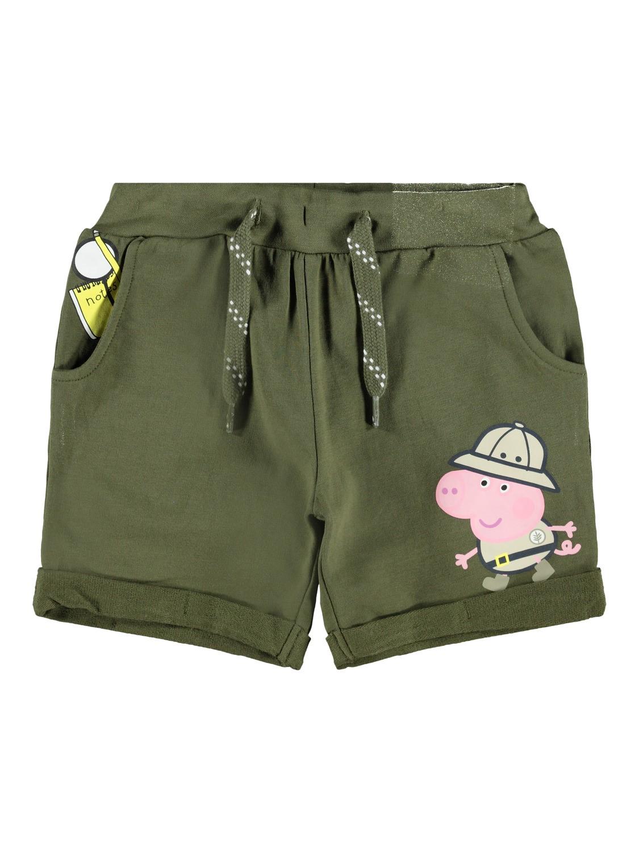 Peppa Gris shorts grønn