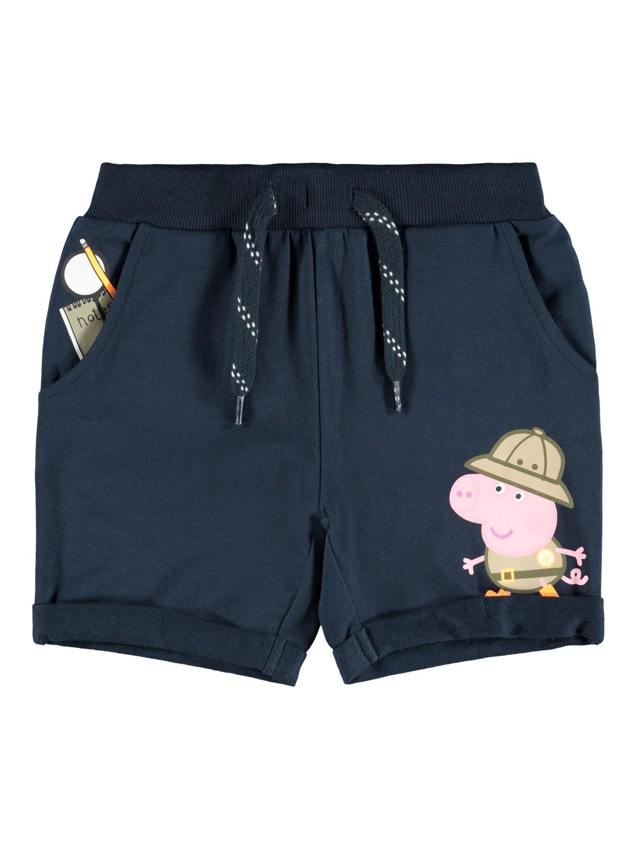 Blå shorts Peppa Gris