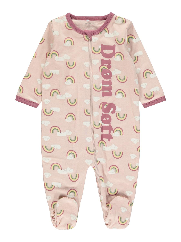 Name It rosa pysjamas – Nattøy lys rosa nattdrakt  – Mio Trend