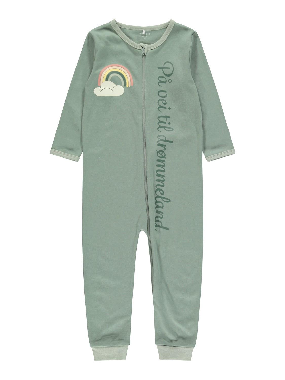 Grønn pysjamas Name It