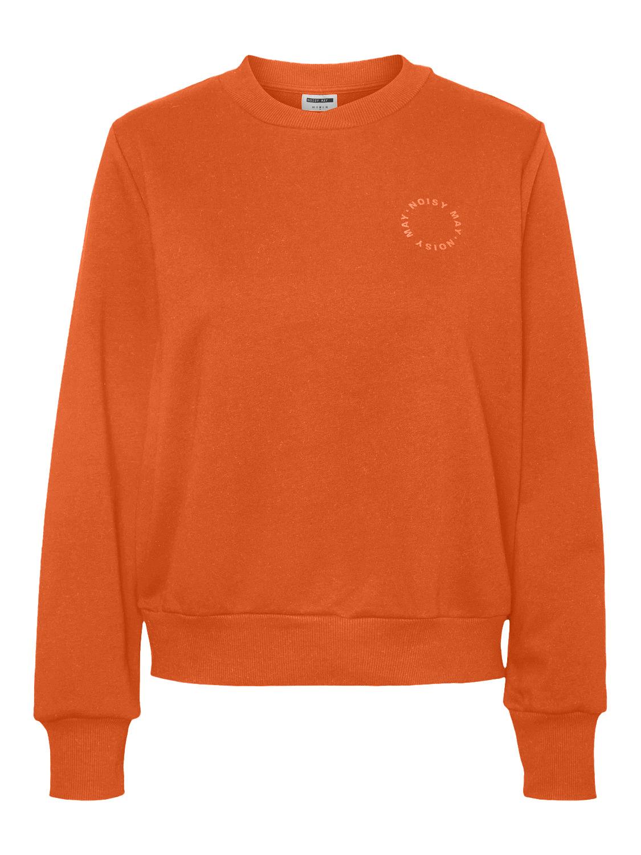Noisy May oransje genser – Noisy May oranjse genser Lupa – Mio Trend