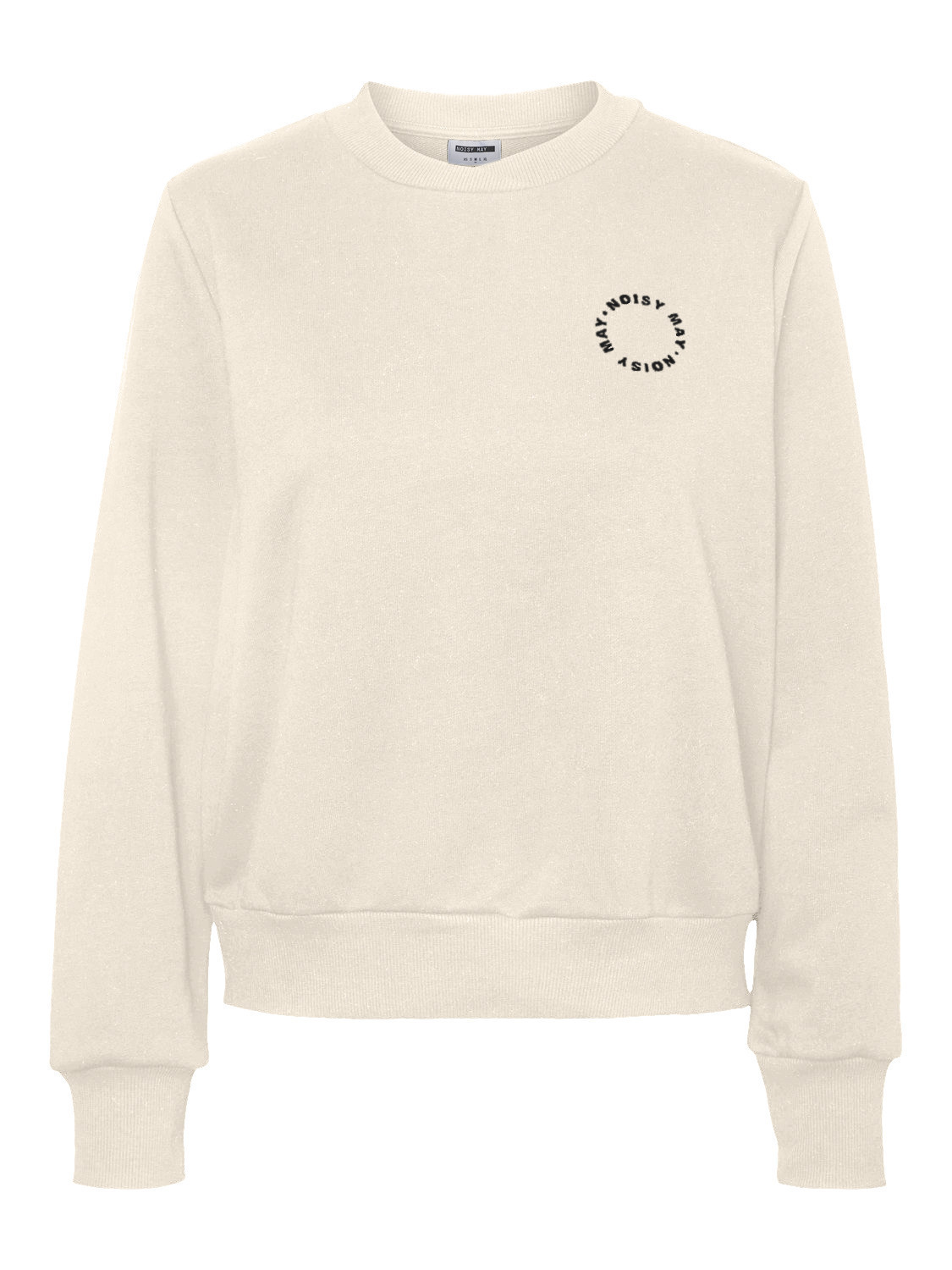 Lupa genser Noisy May – Noisy May off white genser Lupa – Mio Trend