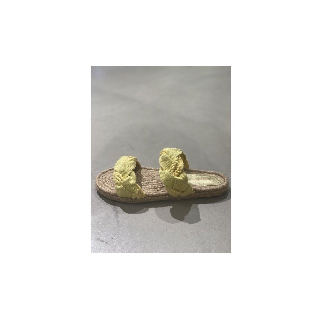 Jump gule sandaler