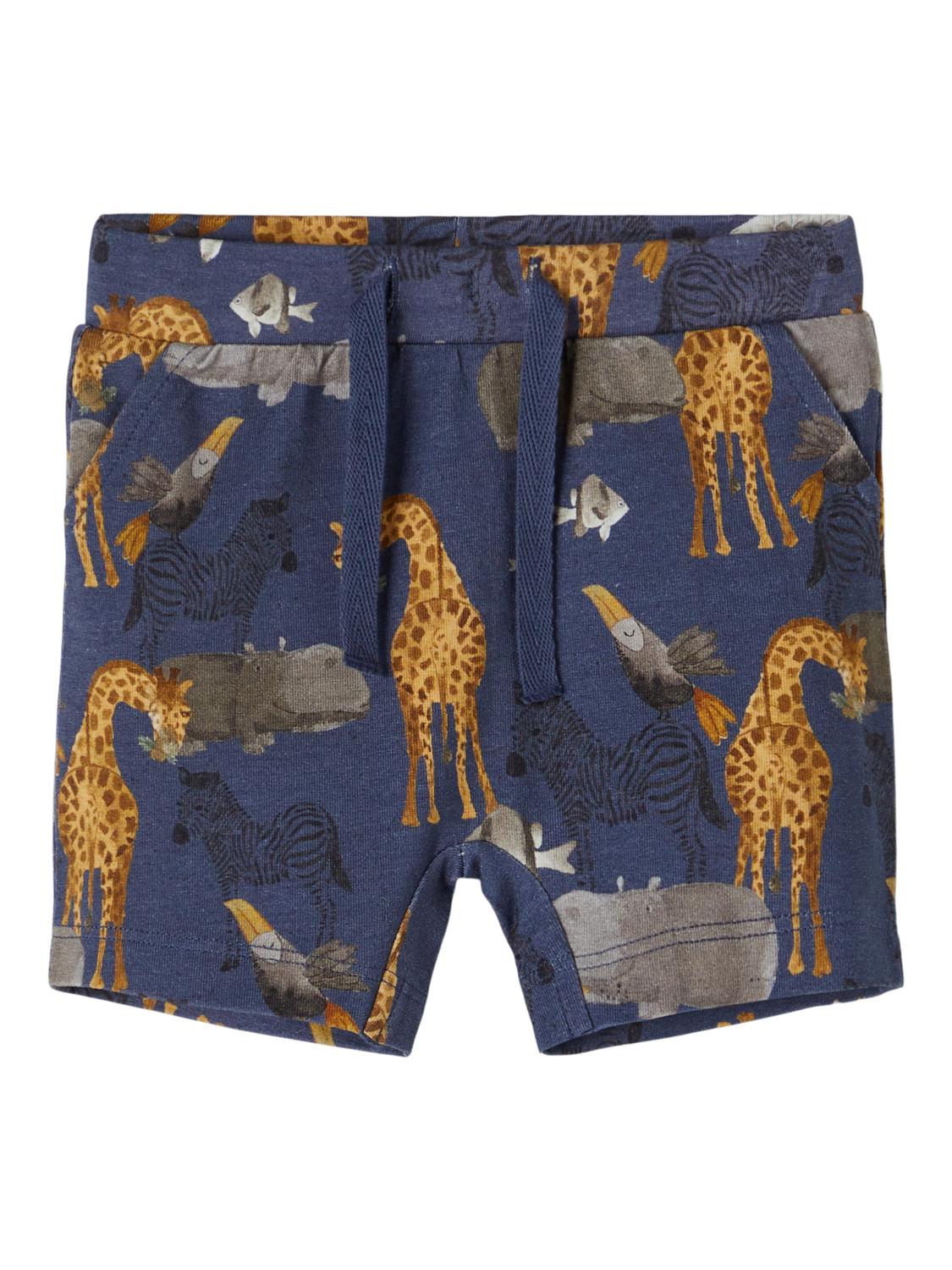 Blå shorts til baby
