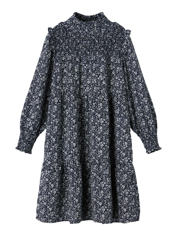 Blå kjole Karin