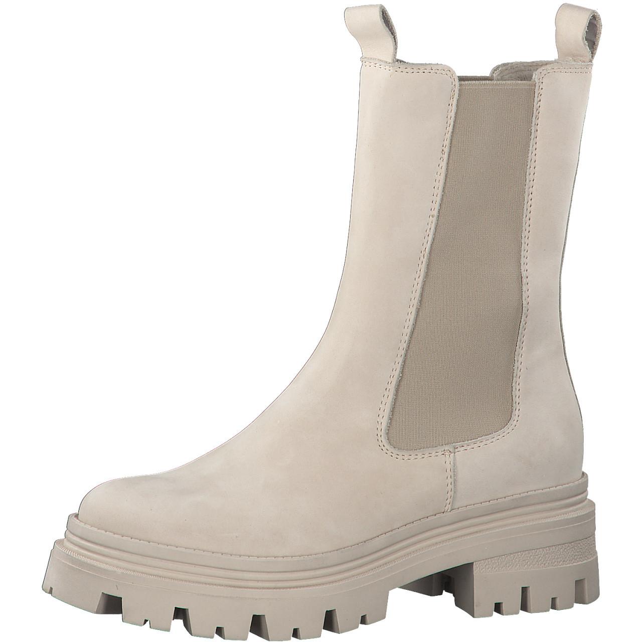 Beige boots Tamaris