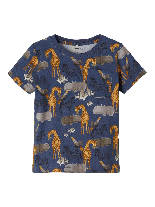 Blå t-skjorte Jelix
