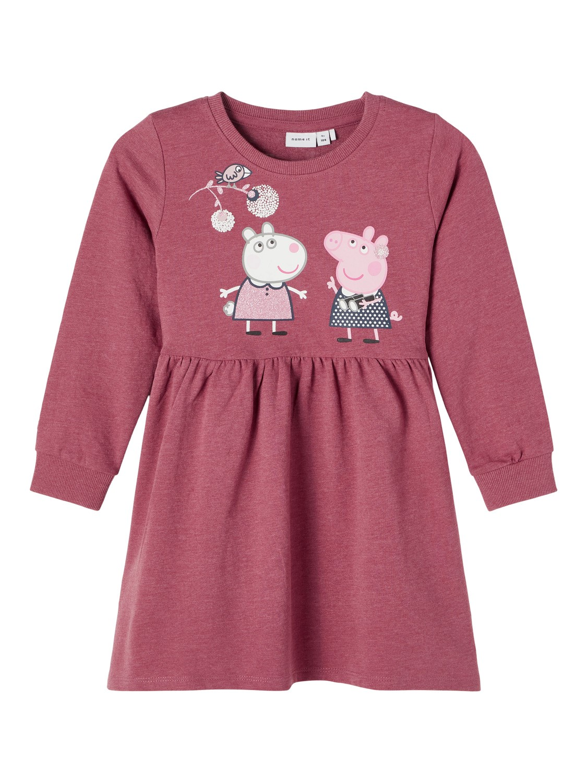 Peppa Gris kjole rosa
