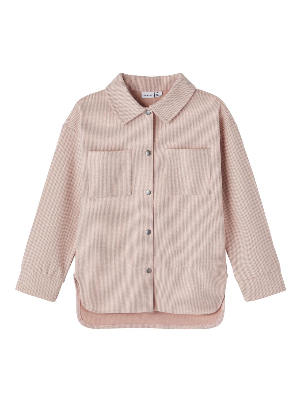 Rosa skjortejakke barn
