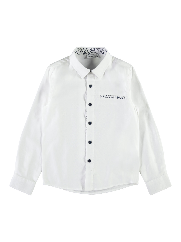 Hvit skjorte Name It gutt
