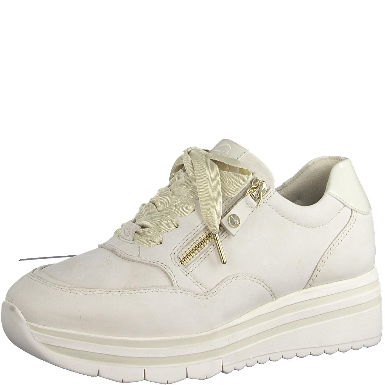 Tamaris beige sko skinn
