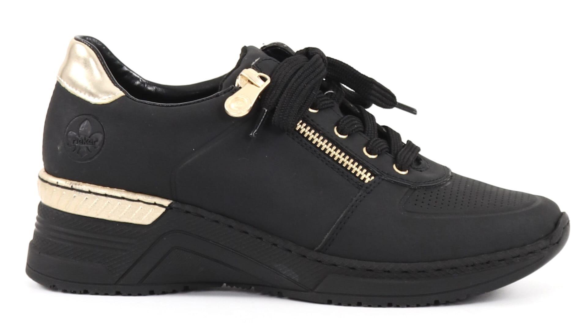 Rieker svart sko