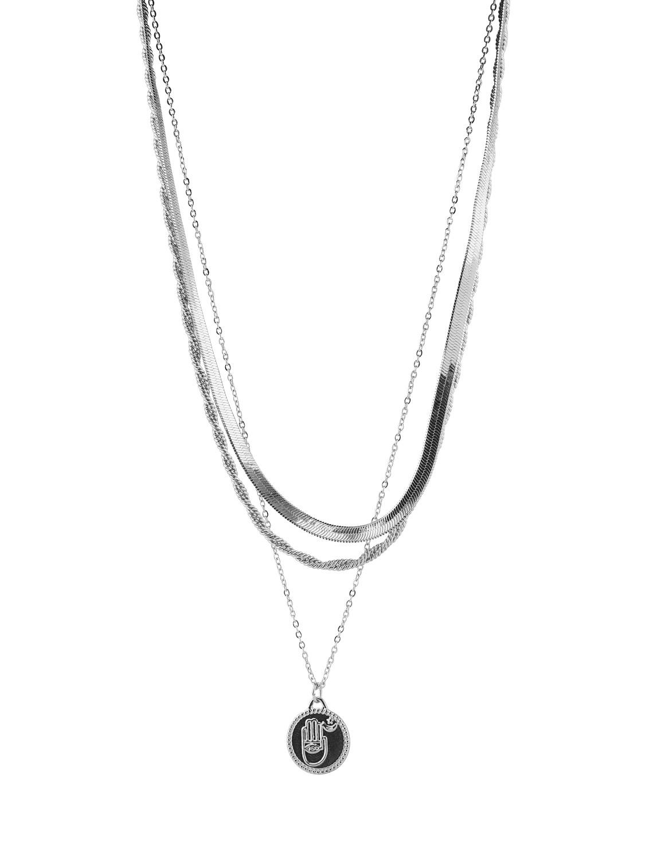 Halskjede sølv Pieces