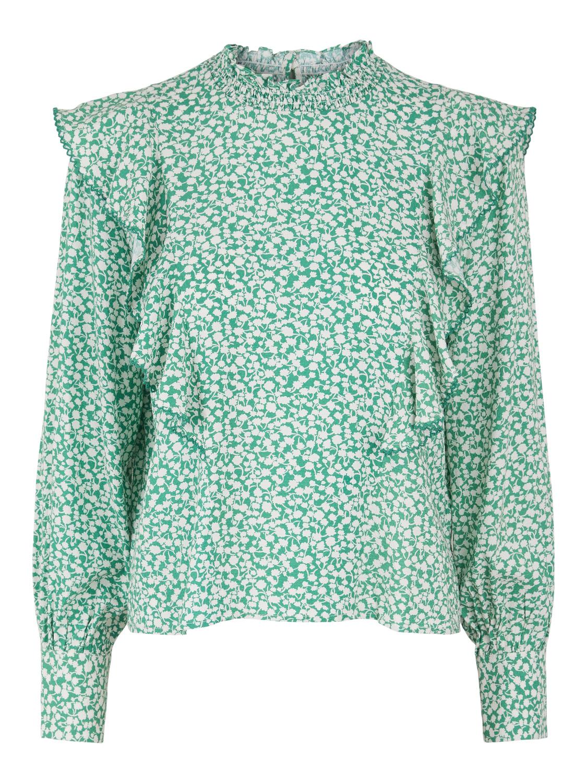Grønn bluse Yas