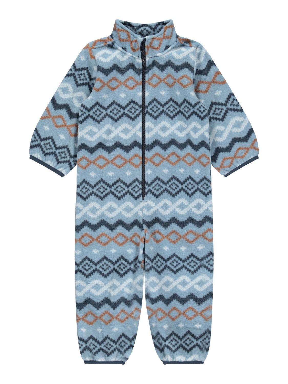 Blå fleecedress barn