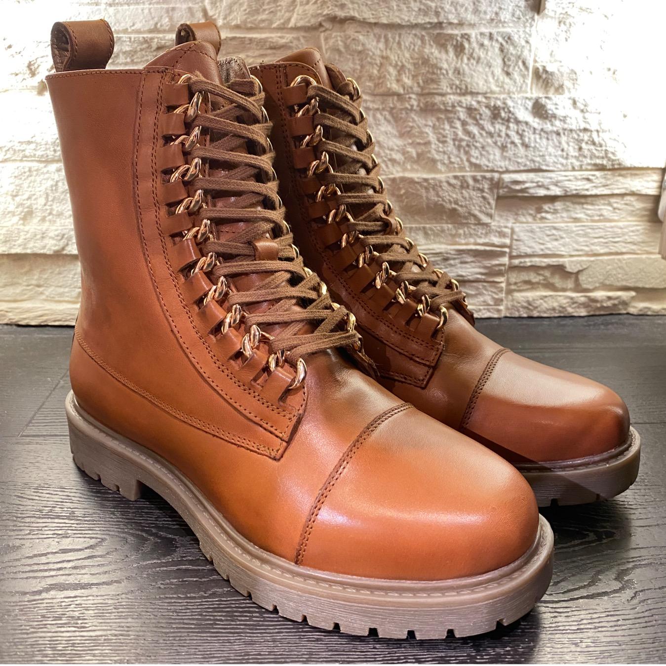 Brune Rock boots Copenhagen Shoes