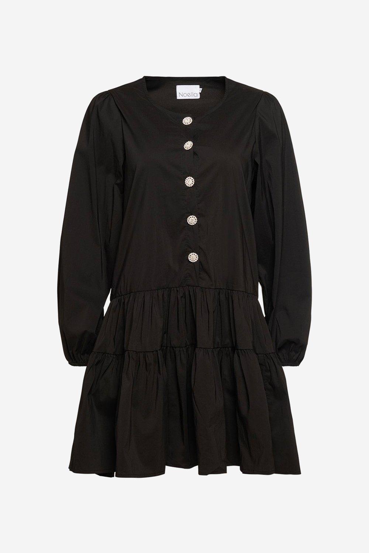 Svart kjole Noella