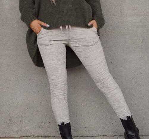 Tindra bukse Pepper beige