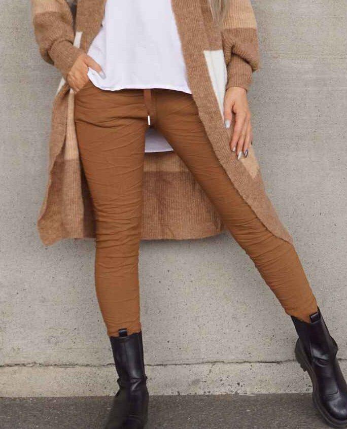 Pepper brun bukse