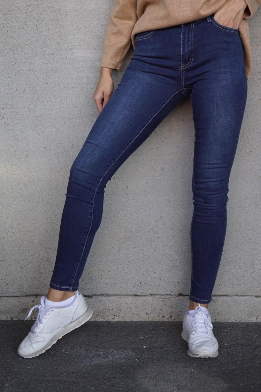 Pepper jeans blå