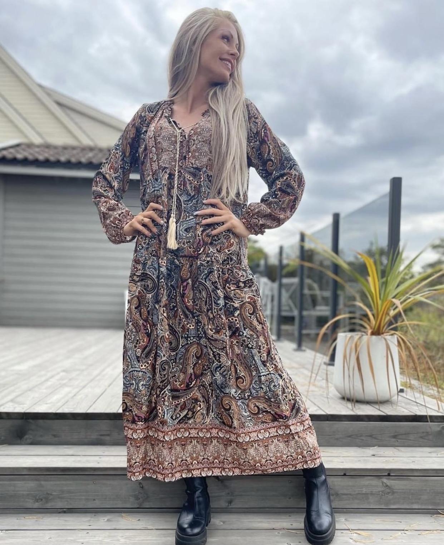 Pepper kjole Kirsten – Pepper lang kjole Kristen – Mio Trend