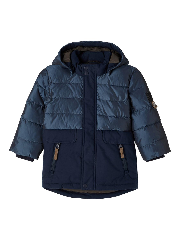Marineblå vinterjakke Name It – Name It blå vinterjakke Manuel  – Mio Trend