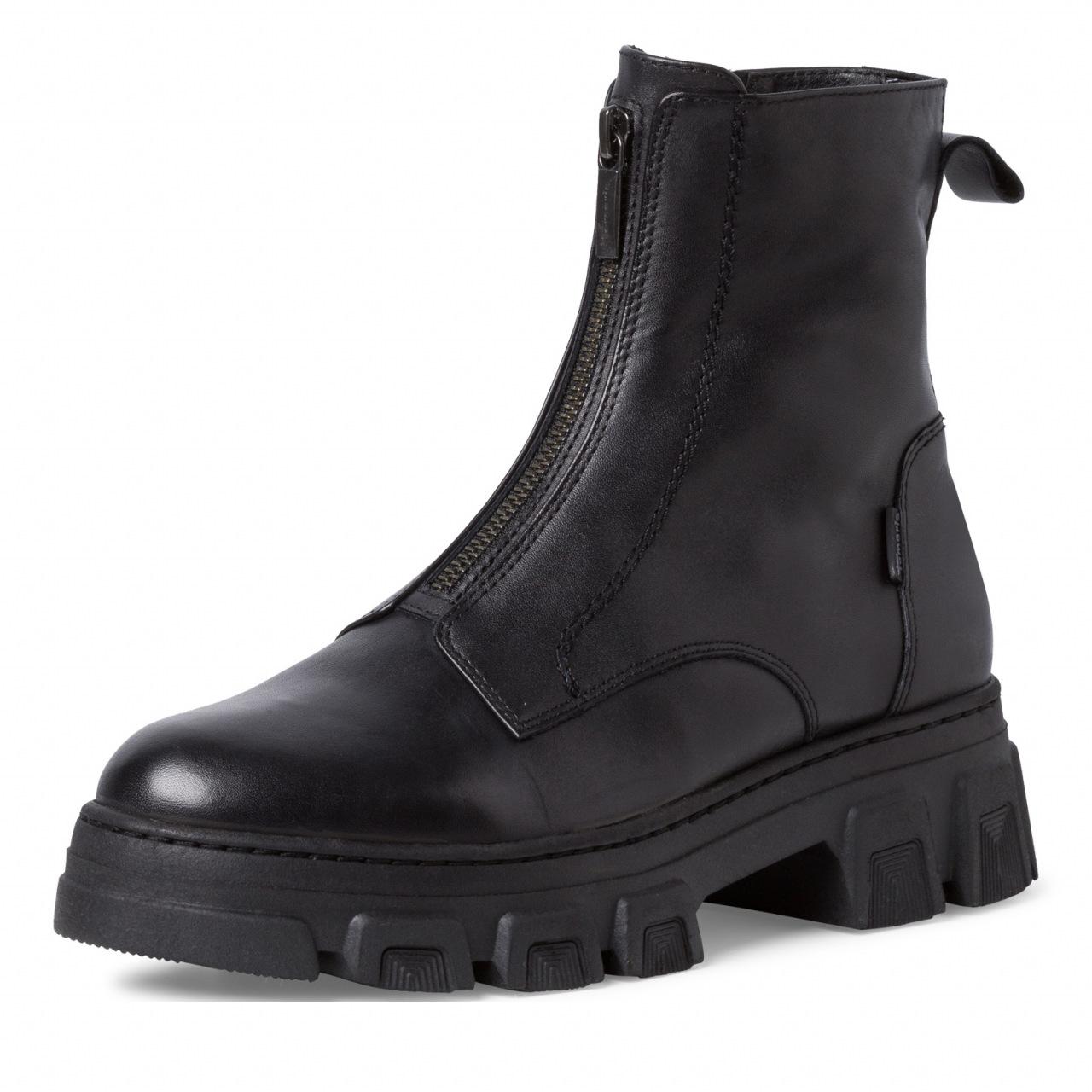 Tamaris boots med glidelås