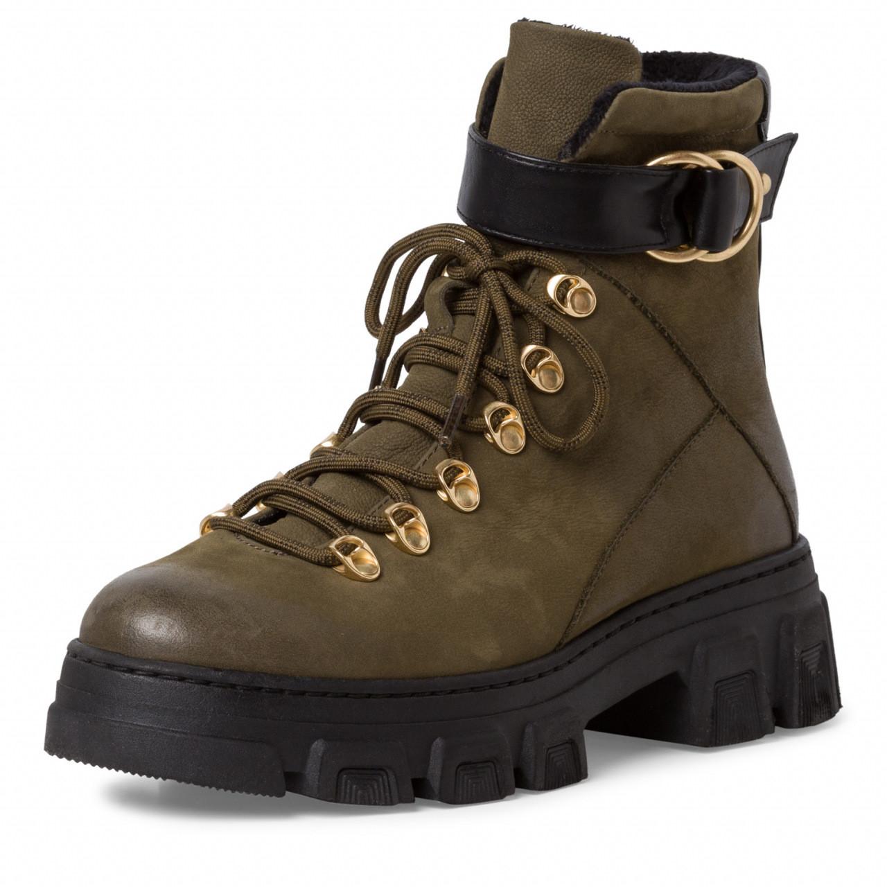 Grønne støvler Tamaris