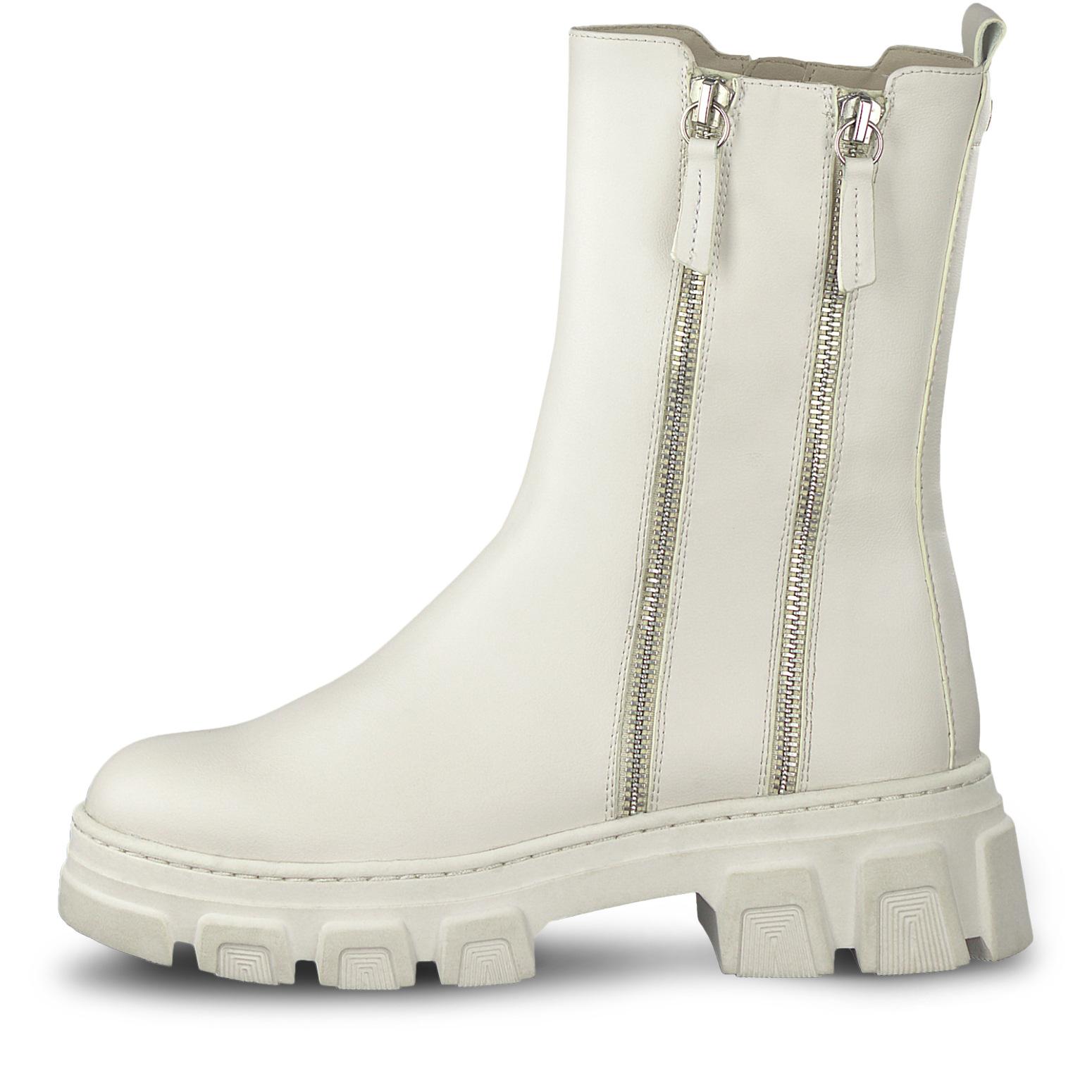 Hvite boot Tamaris