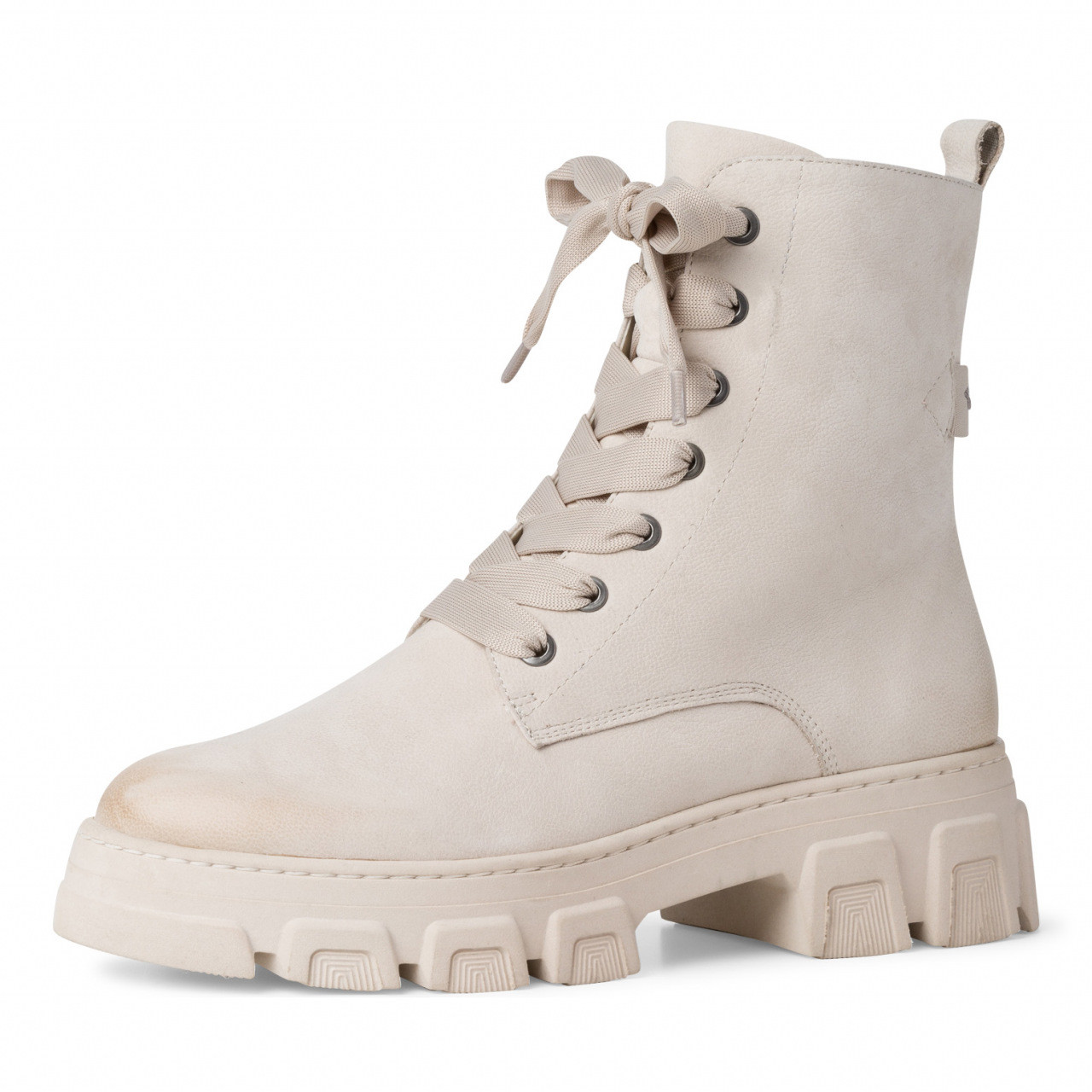 Tamaris off white boots