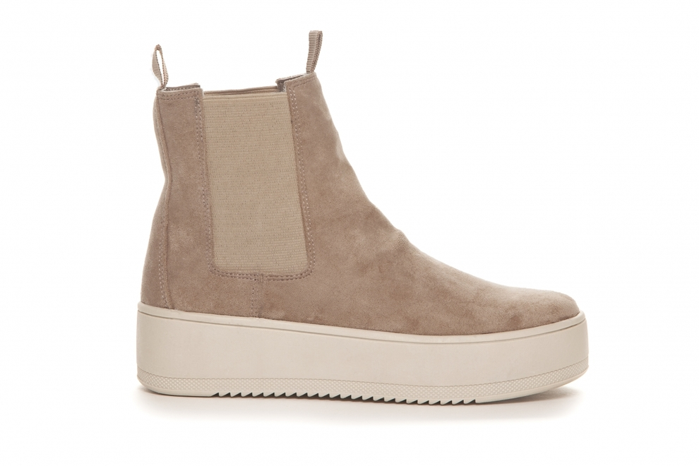 Duffy boots beige