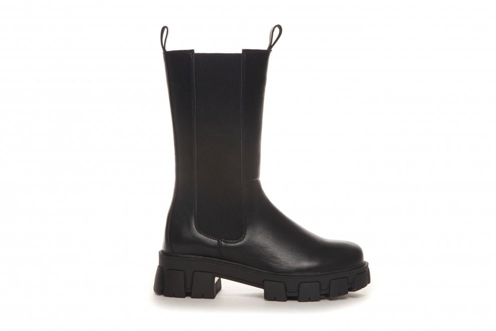 Svarte boots Duffy