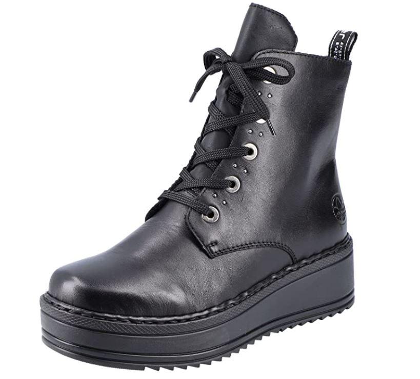 Boots i skinn Rieker